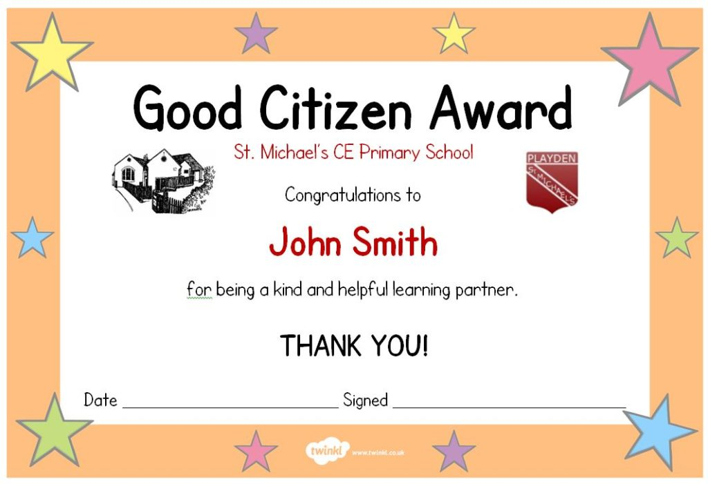 Good Citizen Award
